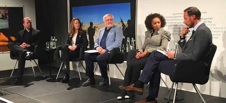 Paneldebatt på Nobels Fredssenter